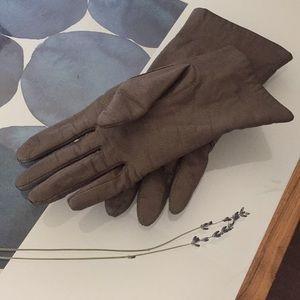 VINTAGE VAN RAALTE Genuine Leather Driving Gloves